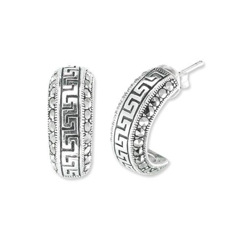 marcasite earring HE1044 1