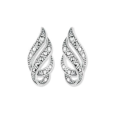 marcasite earring HE1046 1