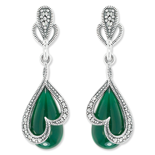 marcasite earring HE1056 1
