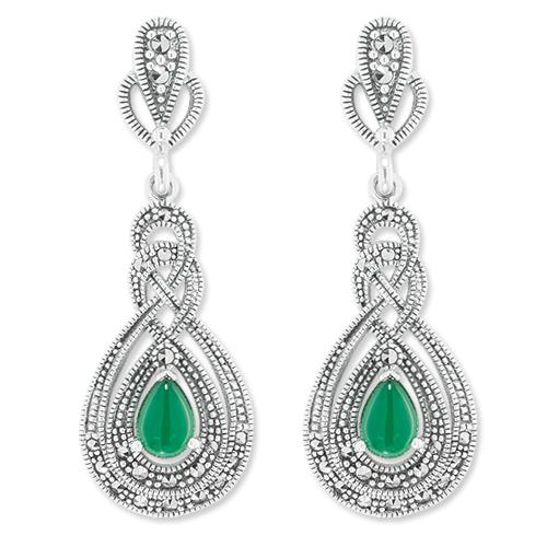 marcasite earring HE1060 1
