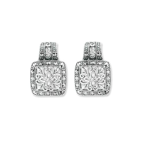 marcasite earring HE1064 1