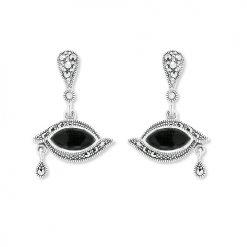 marcasite earring HE1067 1