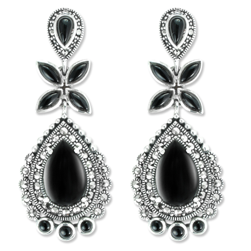 marcasite earring HE1081 1