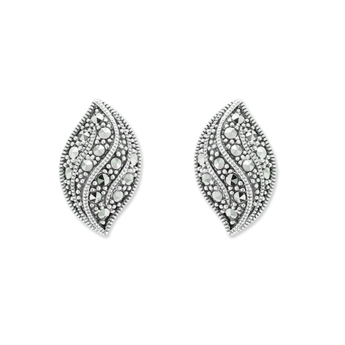 marcasite earring HE1086 1