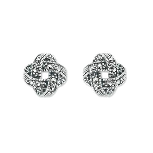 marcasite earring HE1087 1