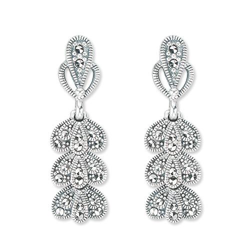 marcasite earring HE1094 1