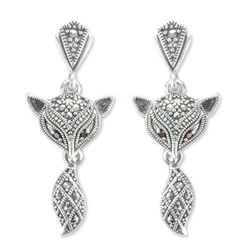 marcasite earring HE1095 1