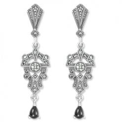 marcasite earring HE1098 1