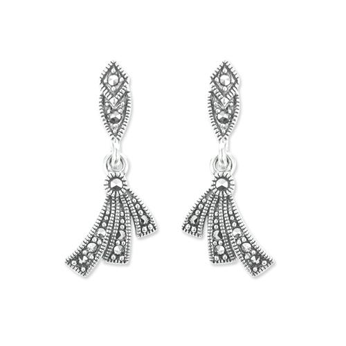 marcasite earring HE1100 1