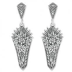 marcasite earring HE1103 1
