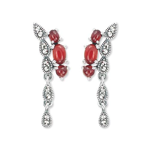marcasite earring HE1109 1