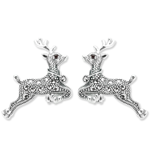 marcasite earring HE1112 1