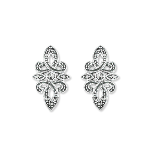 marcasite earring HE1122 1