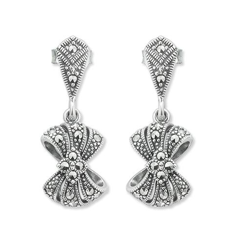 marcasite earring HE1138 1