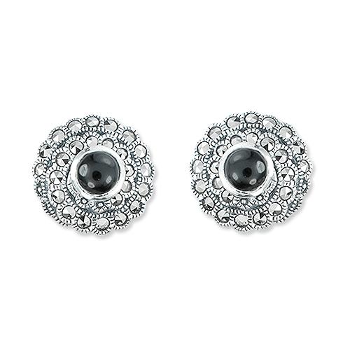 marcasite earring HE1140 1