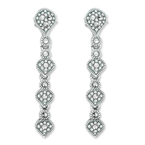 marcasite earring HE1150 1