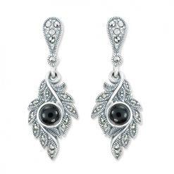 marcasite earring HE1156 1