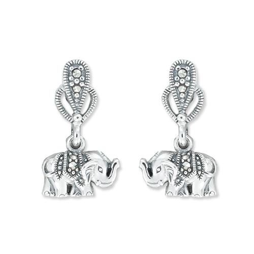 marcasite earring HE1174 1