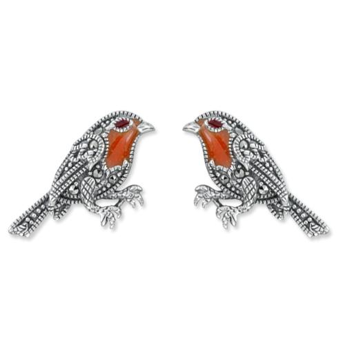marcasite earring HE1176 1