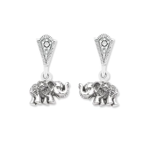 marcasite earring HE1180 1