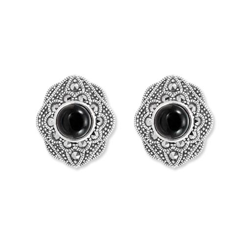 marcasite earring HE1217 1
