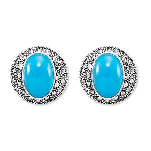 marcasite earring HE1219 1
