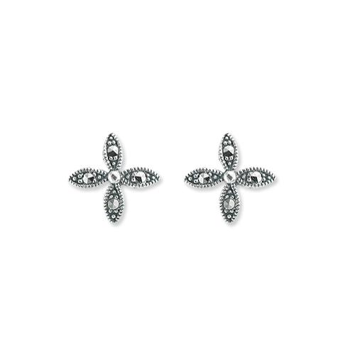 marcasite earring HE1250 SML 1