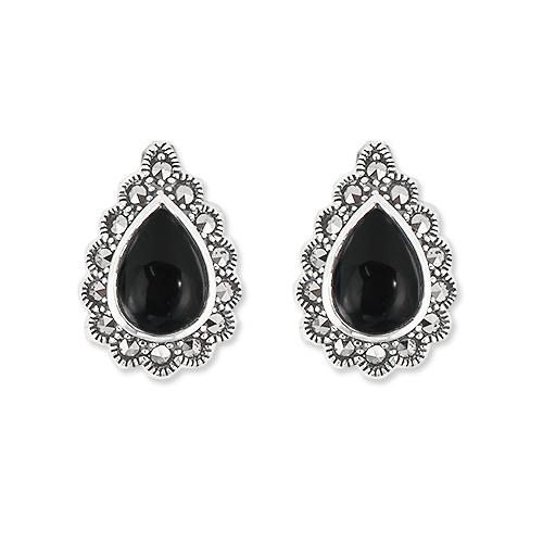 marcasite earring HE1265 1