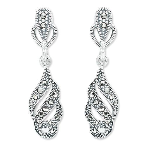 marcasite earring HE1267 1