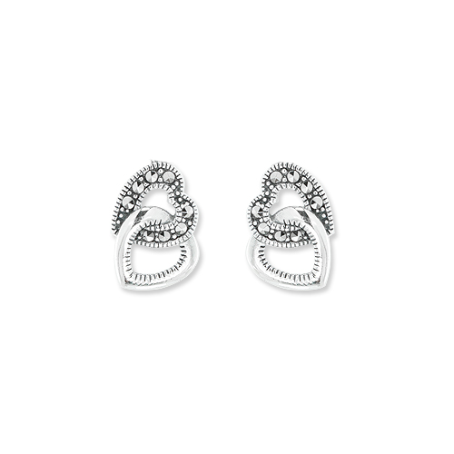 marcasite earring HE1270 1