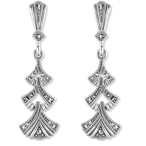 marcasite earring HE1276 1
