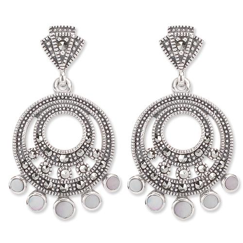 marcasite earring HE1278 1