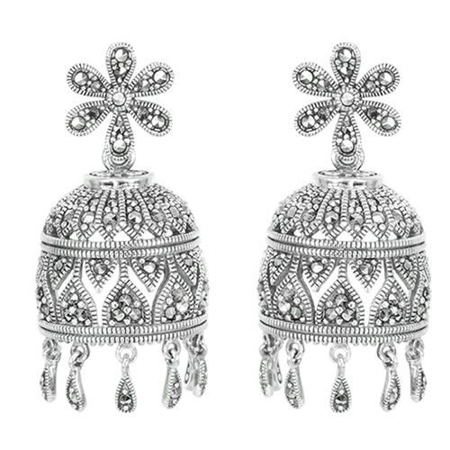 marcasite earring HE1284 1