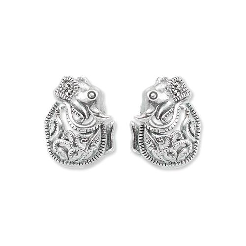 marcasite earring HE1296 1
