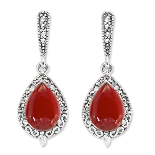 marcasite earring HE1302 1