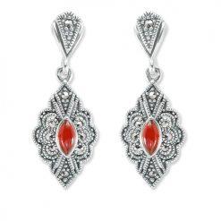 marcasite earring HE1306 1
