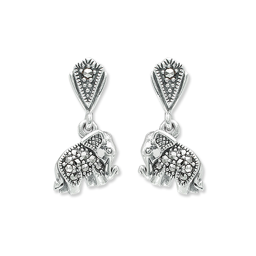 marcasite earring HE1311 1