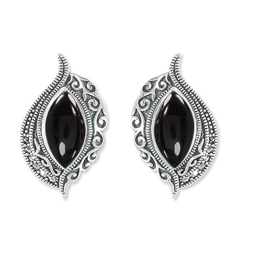 marcasite earring HE1313 1