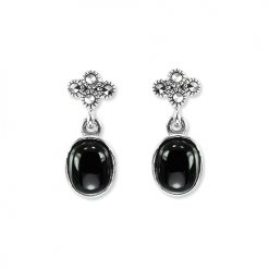 marcasite earring HE1315 1
