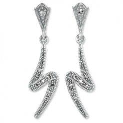 marcasite earring HE1324 1