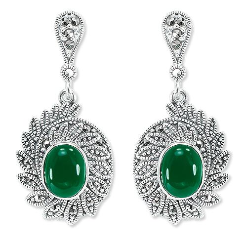 marcasite earring HE1325 1