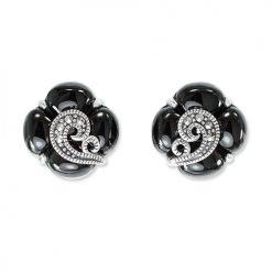 marcasite earring HE1327 1