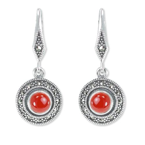 marcasite earring HE1328 1