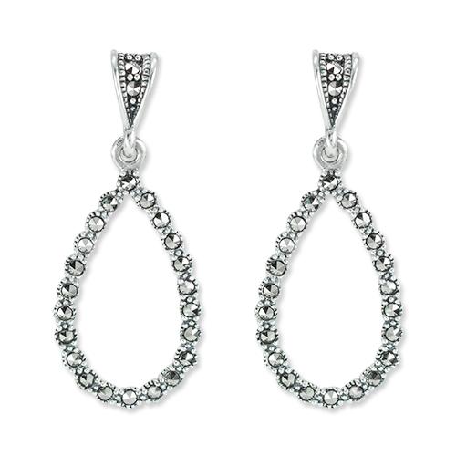 marcasite earring HE1329 1