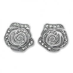 marcasite earring HE1331 1