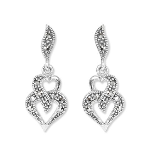 marcasite earring HE1332 1