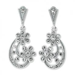 marcasite earring HE1337 1