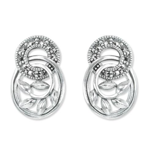 marcasite earring HE1338 1