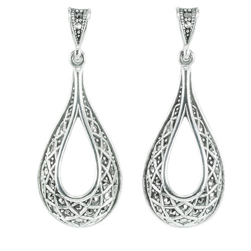 marcasite earring HE1346 1