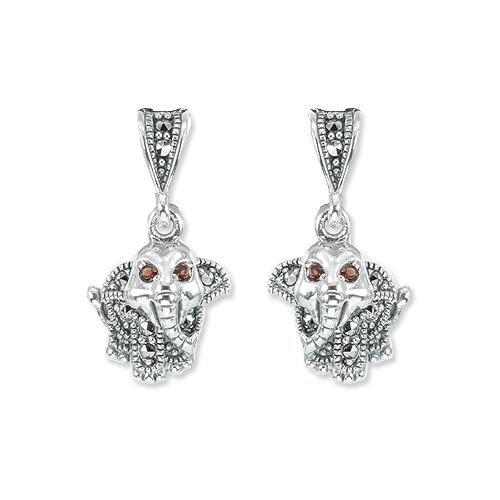 marcasite earring HE1351 1